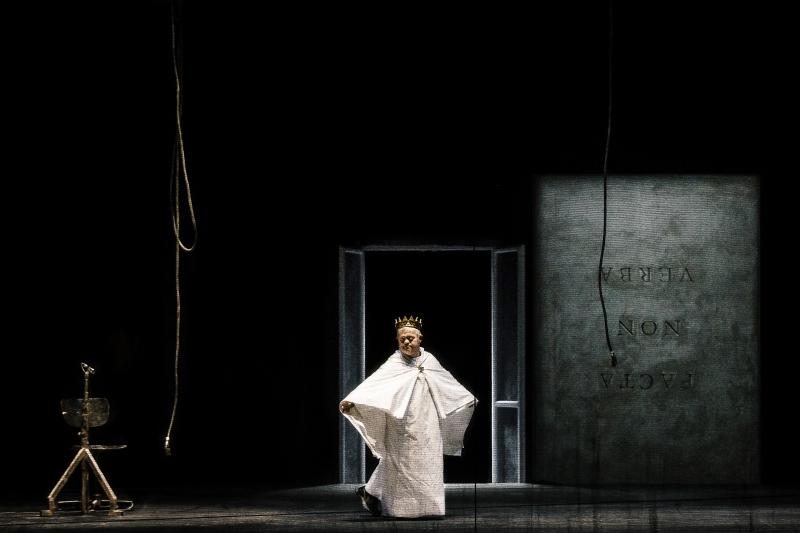 """Socìetas Raffaello Sanzio, """"Orestea (una commedia organica?)"""", 2015 (ph Guido Mencari)"""