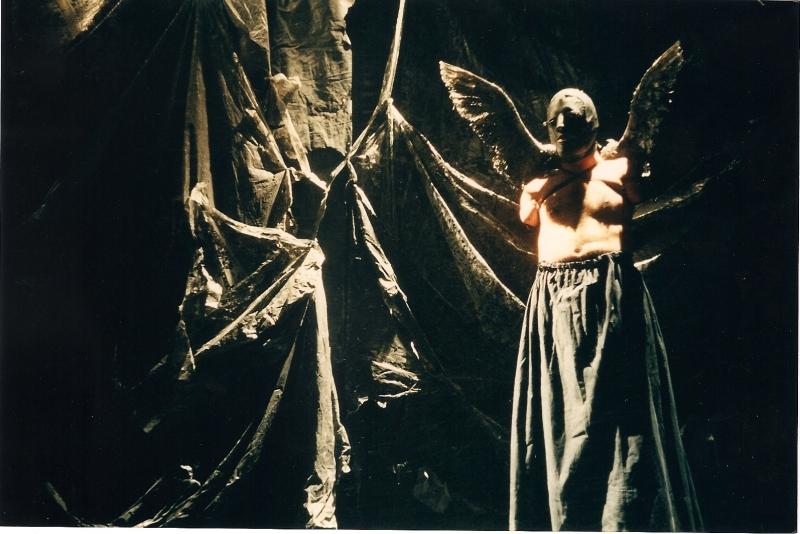 """Socìetas Raffaello Sanzio, """"Orestea (una commedia organica?)"""", 1995 (ph Luca Del Pia)"""